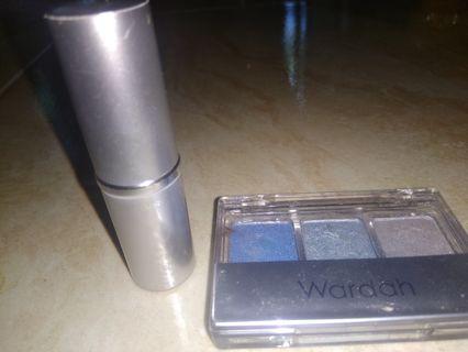 #BAPAU Dijual lipstik silkygirl dan eyeshadow wardah