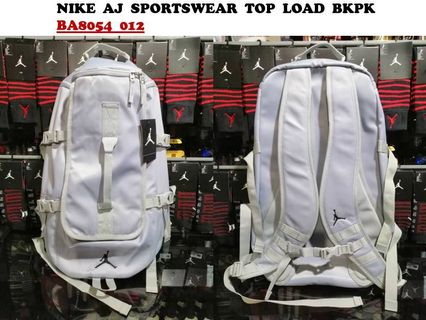 094ae8fc98bec5 nike air jordan sportswear top load bkpk grey ba8054 012