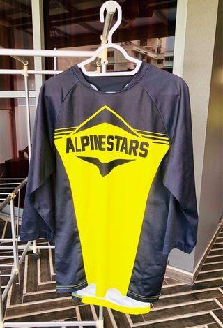 🚚 Authentic Alpinestar 3/4 jersey. Size S.