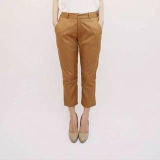 Skinny trouser cream