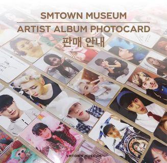 [PO] SMTOWN Artist Album Photocard Printing Service