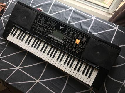 XTS-983 ANGELET 61 Key Multimedia Touch Control Electronic Keyboard Piano Organ LCD Display