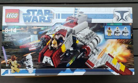 全新 Starwars 星戰系列 Lego 8019 Republic Attack Shuttle