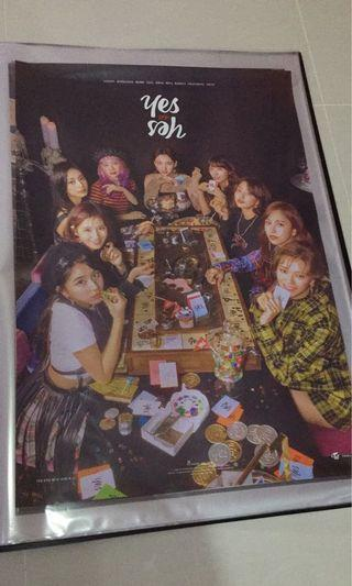 TWICE Yes or Yes Poster