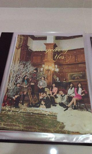TWICE The Year of Yes Poster