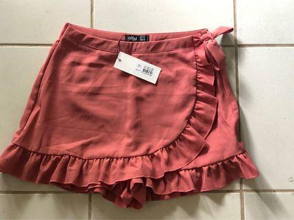 Ally ruffled skort. New with tags. RRP $28.50