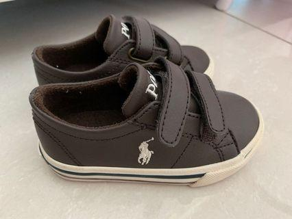 罕見Polo Ralph Lauren shoes 皮波鞋