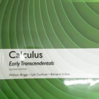 CULCULAS EARLY TRANSCENDENTALS
