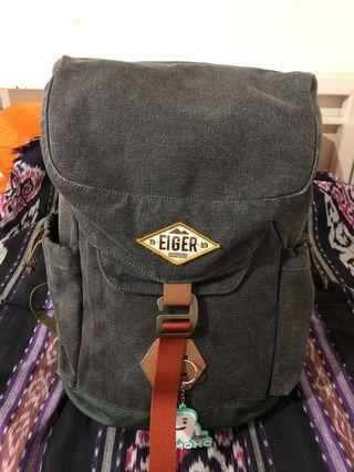 Eiger 1989 Shore Canvas Backpack 25L