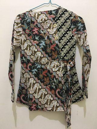 Baju batik panjang