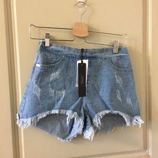 🚚 Loffe牛仔短褲
