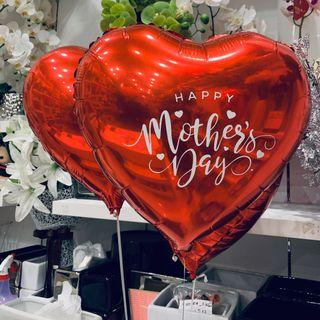 """18"""" Mother Day heart foil"""