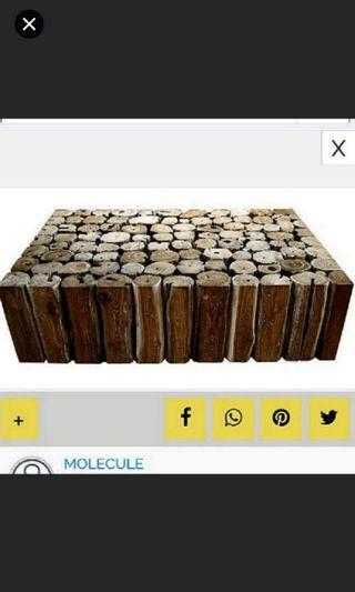 Sale!! Coffee Table by MOLECULE (Crate Cb2 Eames Om Air b&b