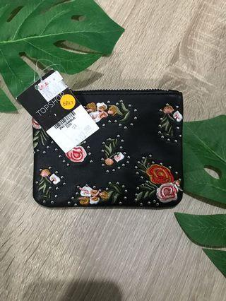 [New] Topshop Embroidiery Stud wallet