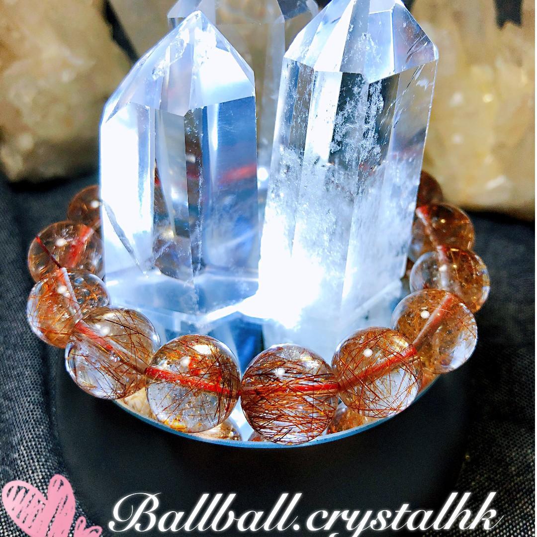 13mm 銅髮晶  @ballball.crystalhk