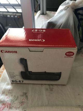 🚚 canon BG-E7(7d)