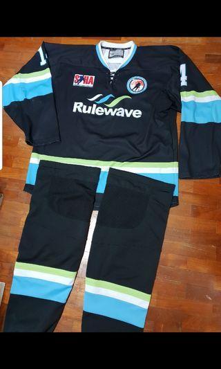 National Ice Hockey League Singapore Jersey Set