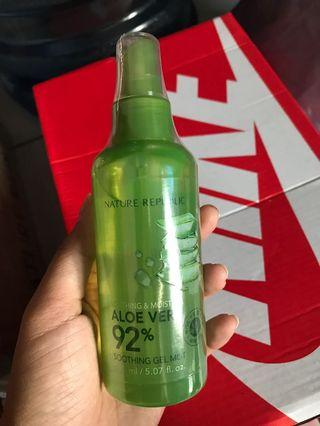 Nature Republic Aloe Vera Soothing Gel Mist (ORI COUNTER)