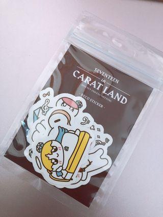 🚚 Seventeen CaratLand 2018 Sticker Set