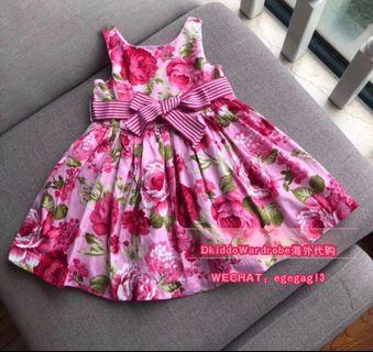 RL Flora Dress