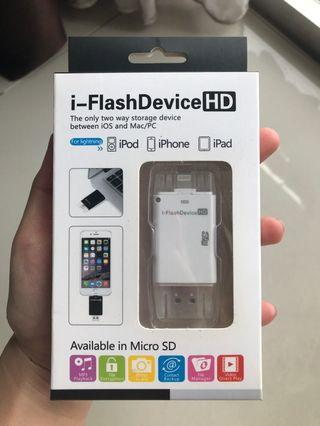 i-Flash Device HD for iPhone iPad iPod