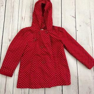 [Preloved] Super Cute Girls Polka Dot Jacket
