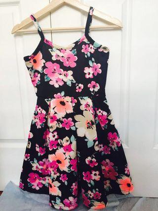 ♡ Flower print summer dress