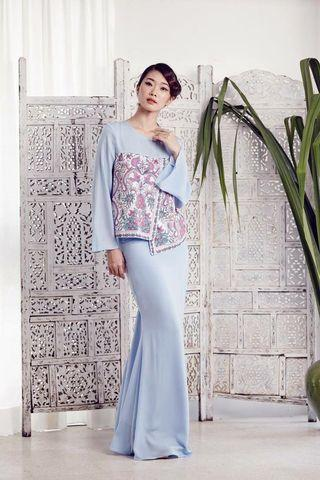 Hera Top in Baby Blue by MimpiKita (Eid 2016)#GayaRaya