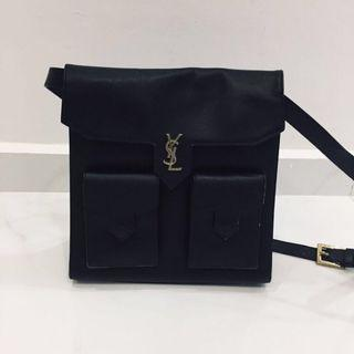 Authentic (YSL) Yves Saint Laurent Real Vintage Black Bag