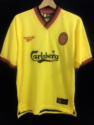 vintage liverpool reebox jersey