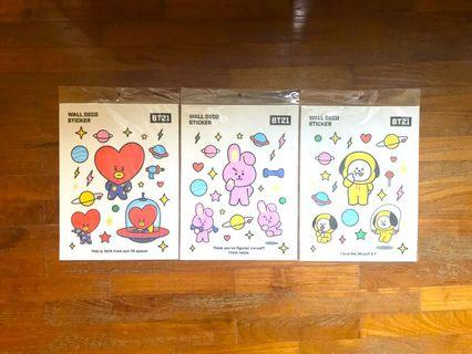 <INSTOCK> BT21 Monopoly Wall Deco Sticker