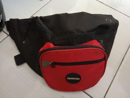 Tas waist bag second # BAPAU