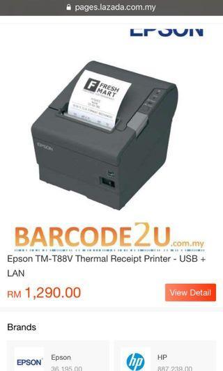 Epson Thermal Printer TM-T88V