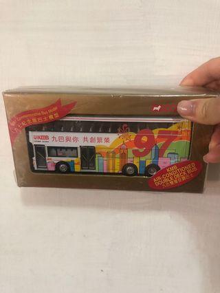 九巴97紀念版巴士模型