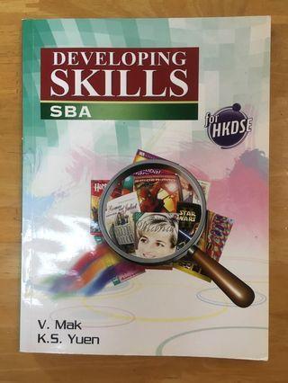 HKDSE 文憑試 英文 eng SBA手冊
