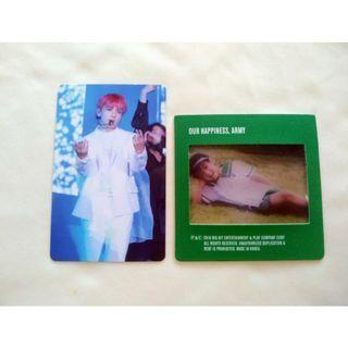 Jungkook DVD Photocard/Jungkook Baby film Photo