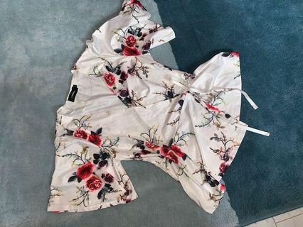 🚚 Floral Kimono
