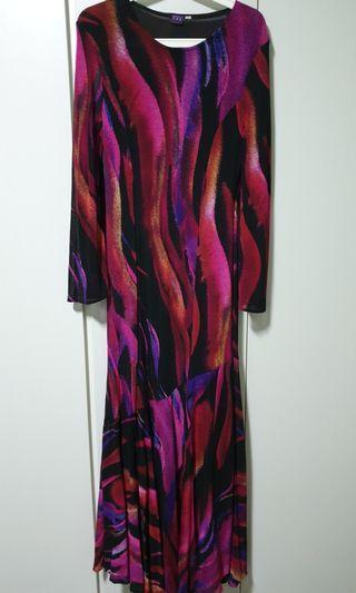 Jubah Long Dress