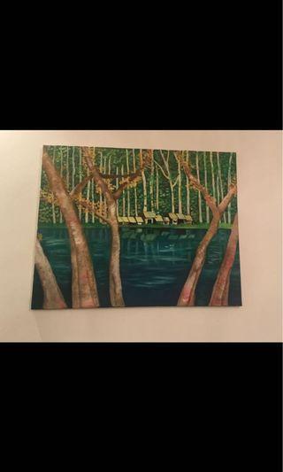 Canvas Painting, oil painting, 76cm x 60cm