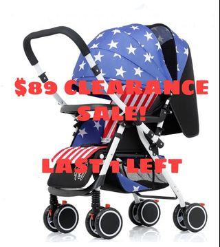 Captain America 2 Way Reversible Stroller