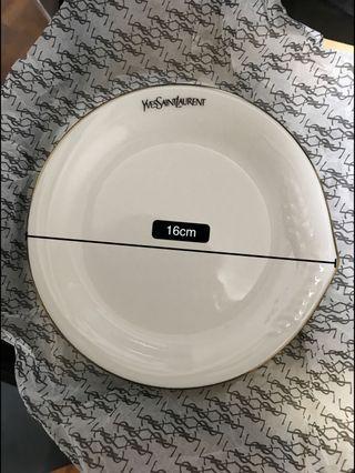 珍藏 YSL 餐碟、蛋糕碟 vintage iteam 一套6隻