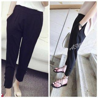 🚚 Brand New Black Elastic & Stretchable Pants (Suitable for UK8)