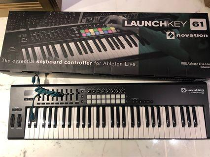 Novation Launchkey 61 keyboard mkII
