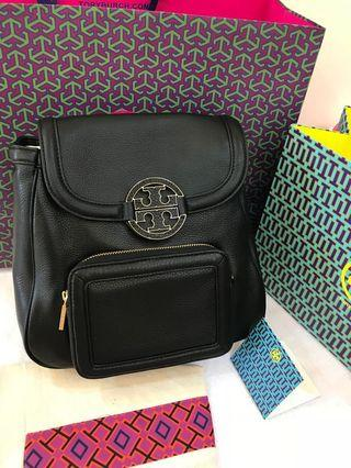 Ready Stock Authentic Tory Burch Amanda backpack