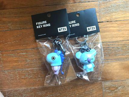 <INSTOCK> BT21 Figure Keyring