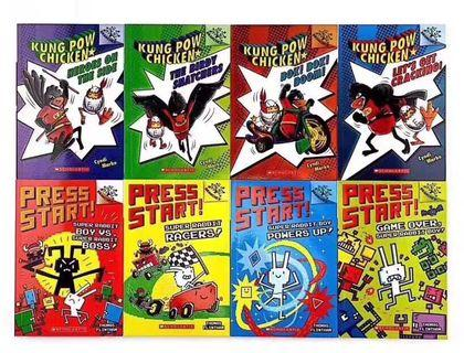 🚚 Scholastic Branches Kung Pow Chicken and Press Start