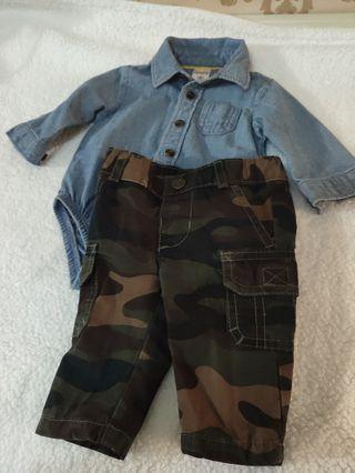 Preloved 1 set jumper jeans