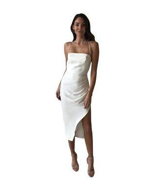 BNWT RRP $399 Manning Cartel Status Update Backless Dress Size 8