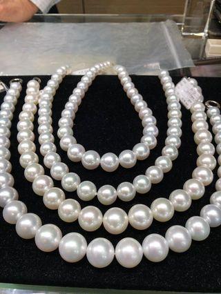 珍珠飾品 度身訂造 戒指 頸鍊 耳環 手鍊