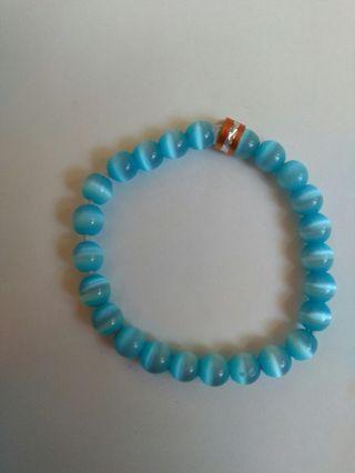 🚚 藍貓眼手環